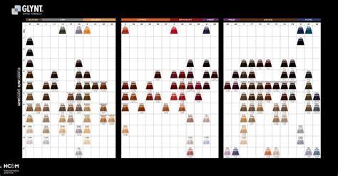 glynt shadows color chart tintes pinterest
