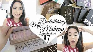 DECLUTTER MY MAKEUP COLLECTION + GIVEAWAY 2017! EPISODE #7 ...