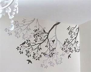 Ideas about tree wall stencils on