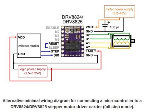 Drv Stepper Motor Driver With Aluminum Heat Sink
