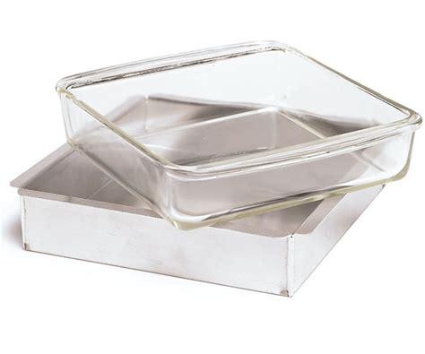 glass  metal baking pans article finecooking