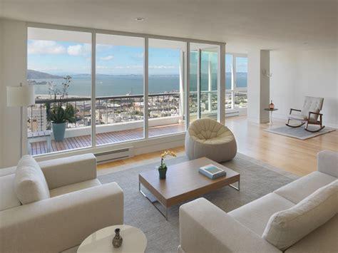 Minimalist Condo Living by Green Condo Modern Living Room San Francisco