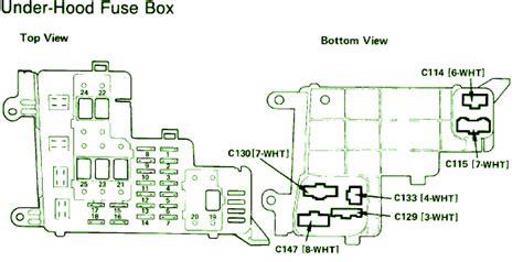 1991 Honda Accord Brake Light Wiring Diagram by Integrated Unit Circuit Wiring Diagrams