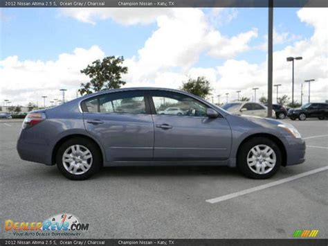 grey nissan altima 2012 nissan altima 2 5 s ocean gray charcoal photo 4