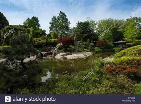 Japanischer Garten Rheinaue by Rheinaue Stockfotos Rheinaue Bilder Alamy
