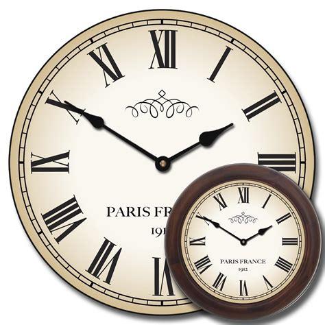 Living Room Wall Clocks Large Paris Wall Clock The Big