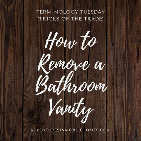 terminology tuesday tricks of the trade � how to remove