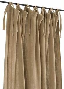 Rideaux En Lin Naturel : rideau en gros lin pais 100 lin naturel 140x280 cm dot ~ Dailycaller-alerts.com Idées de Décoration