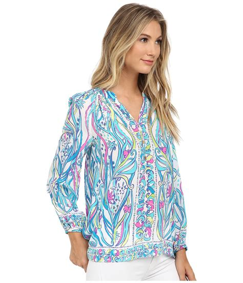lilly pulitzer blouse lilly pulitzer elsa top