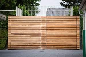 Garage Mit Holz Verkleiden : hang garage terassen garage als beton fertiggarage ~ Watch28wear.com Haus und Dekorationen