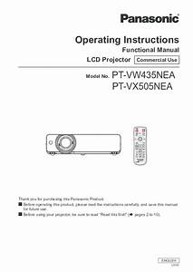 Pdf  Operating Instructions Functional Manual Lcd