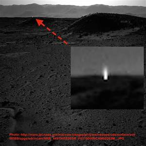 UFO SIGHTINGS DAILY: Mysterous light beams from Mars ...