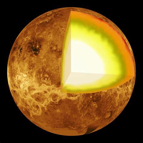 treibhauseffekt auf der venus planetenkruste durch klima