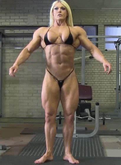 Muscle Female Woman Gifs Muscular Lisa Bodybuilders