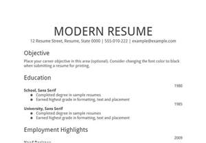 simple resume format for freshers documents job search tolls 50 objectives statements to be customized and google s online free resume
