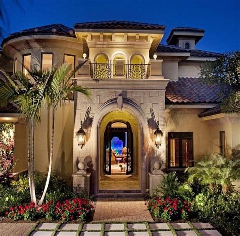 Elevation Mediterranean Architecture Style House Plans