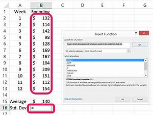 Excel Standardabweichung Berechnen : wie erstelle ich control charts in excel tips for you tipsed com ~ Themetempest.com Abrechnung