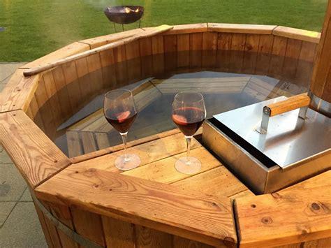 Hot Tub : Hire A Wood Fired Hot Tub