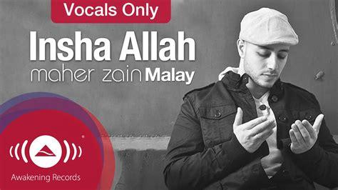 Insha Allah (malay)