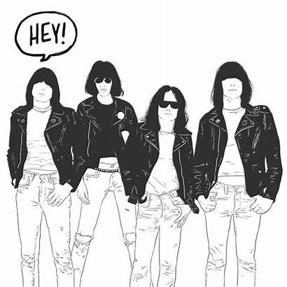 Ramones Rock Roll Ramone Ho Gifs Hey