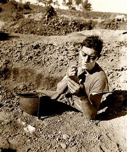 Wwii Foxhole Shave Photograph by Historic Image