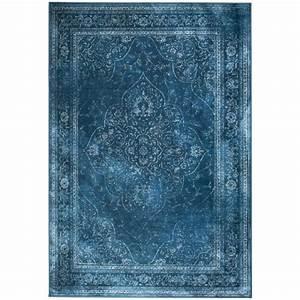 Tapis Berbere Bleu : tapis iranien rugged bleu style persan par drawer ~ Teatrodelosmanantiales.com Idées de Décoration