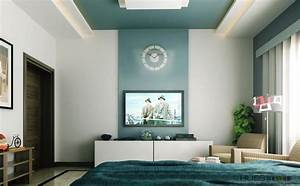 Accent wall color for high walls with round clock