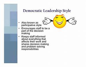 Leader ship style