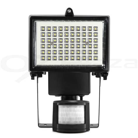 60 led solar sensor light solar security light motion