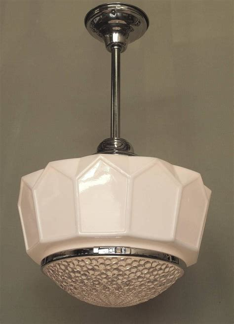 1920s Bathroom Light Fixtures by Single Only Large Commercial 1920s Ceiling Fixture At 1stdibs