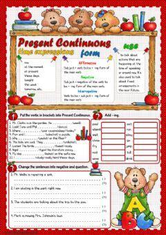 English Exercises Grammar Practice