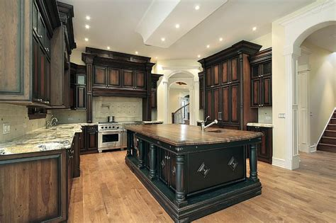 best way to stain kitchen cabinets staining cabinets darker smart architechtures the most 9248