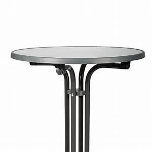 Table Bistrot Pliante : table de bistrot pliante mange debout ronde bellini g80110 gri ~ Teatrodelosmanantiales.com Idées de Décoration