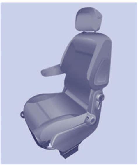 siege partner citroen berlingo sièges avant sièges ergonomie et