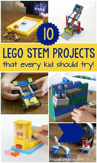 Lego Stem Projects Boys Fun Math Frugal