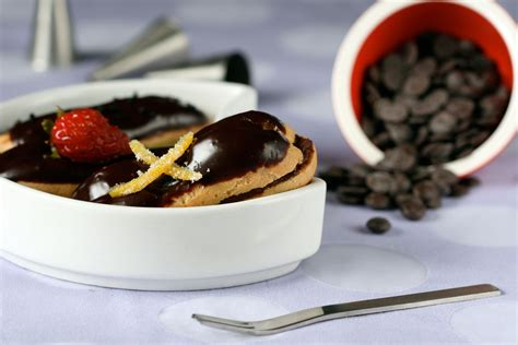 desserts by herme daring bakers eclairs with flair dessert