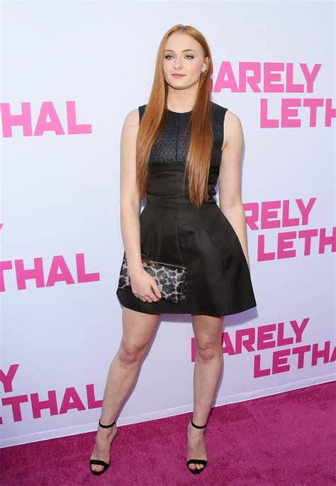 Sophie Turner - Barely Lethal Premiere in Los Angeles ...
