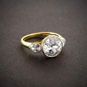 english vintage style engagement ring vintage engagement With english wedding rings