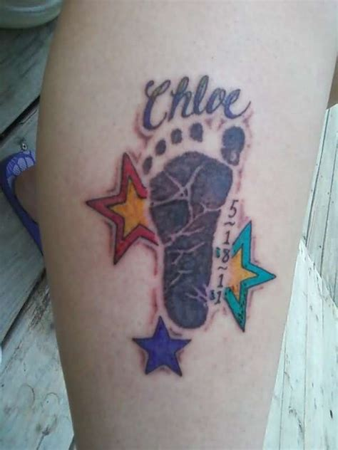 cute baby footprint tattoos hative