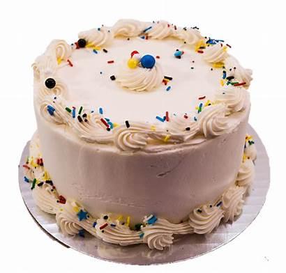 Cake Plain Vanilla Layer Cakes Buttercream Jane