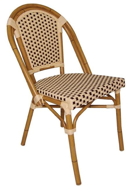 wicker bistro chair set of 4 stools chairs