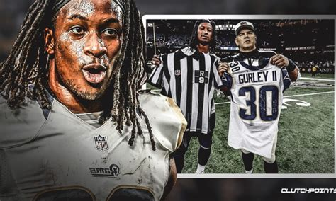 rams news todd gurley shares fake photo  instagram
