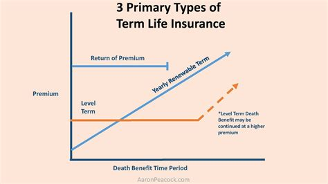 The Three Primary Types Of Term Life Insurance