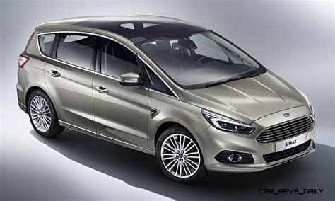 2015 Ford S Max Adds Led Lighting And Next Sync In Comprehensive Redesign