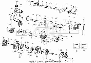 Poulan Wt3100 Gas Trimmer Parts Diagram For Engine