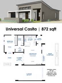 contemporary home plans universal casita house plan 61custom contemporary modern house plans