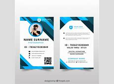 Idcard Vectors, Photos and PSD files Free Download
