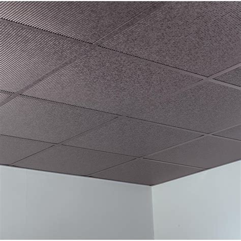 Suspended Ceiling Tiles 2x2 by Fasade Ceiling Tile 2x2 Suspended Rib In Galvanized Steel