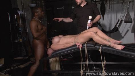 Interracial Domination Of German Melanie Moon And Pussy