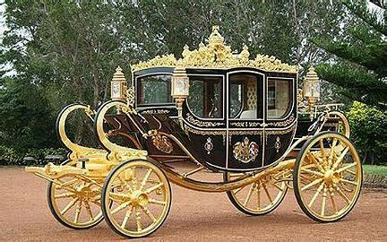 carrozza in inglese una nuova carrozza per la famiglia reale inglese